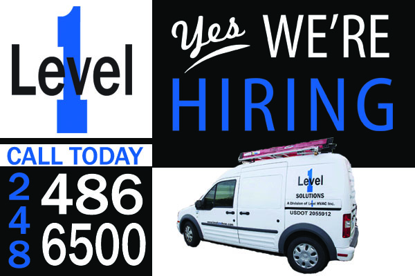 level-one-hvac-hiring-campaign-michigan