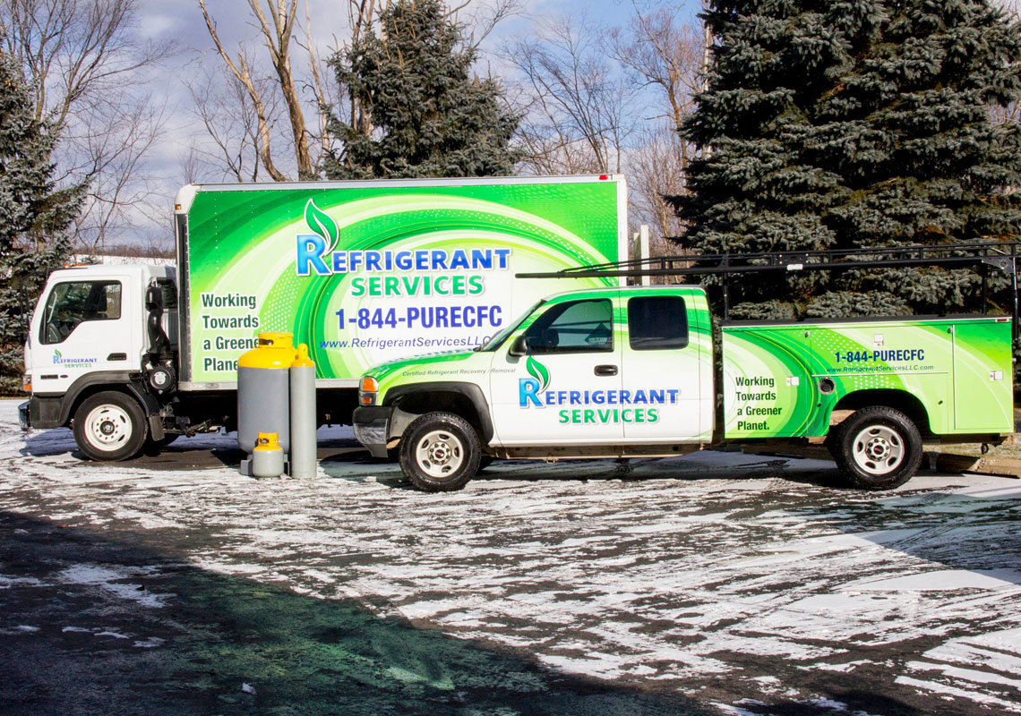 Commercial Refrigerant Services Michigan